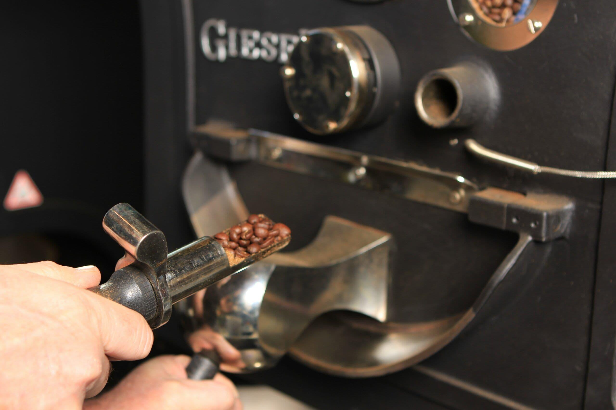 Koffiedemonstratie Koffiebranderij Koffielust